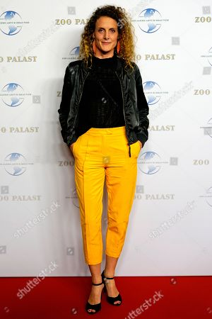German actress Barbara Lanz arrives on the red carpet of a gala on the occasion of the 100th birthday of German film producer Artur Brauner in Berlin, Germany, 08 September 2018. Artur 'Atze' Brauner celebrated his 100th birthday on 01 August 2018 in the company of his family. With the gala, the film world wants to celebrate the producer officially in the Zoo Palast cinema. Around 700 invited guests from all over Europe are expected, including many companions and prominent actors.