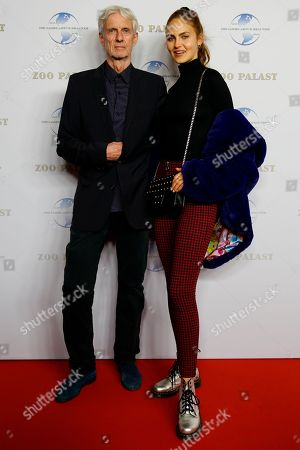 German actor Mathieu Carriere and his daughter Elena Carriere arrive on the red carpet of the gala on the occasion of the 100th birthday of German film producer Artur Brauner in Berlin, Germany, 08 September 2018. Artur 'Atze' Brauner celebrated his 100th birthday on 01 August 2018 in the company of his family. With the gala the film world wants to celebrate the producer officially in the Zoo Palast cinema. Around 700 invited guests from all over Europe were expected, including many companions and prominent actors.