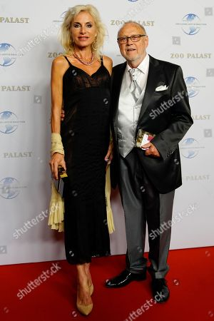 Czech-German actress Dana Vavrova and her husband German director Joseph Vilsmaier arrive on the red carpet of the gala on the occasion of the 100th birthday of German film producer Artur Brauner in Berlin, Germany, 08 September 2018. Artur 'Atze' Brauner celebrated his 100th birthday on 01 August 2018 in the company of his family. With the gala the film world wants to celebrate the producer officially in the Zoo Palast cinema. Around 700 invited guests from all over Europe were expected, including many companions and prominent actors.
