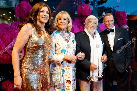 Stock Picture of Alice Brauner (L) and her husband Michael Zechbauer (R), Monique Adorf (2-L) and her husband Mario Adorf (2-R) arrive on the red carpet of a gala on the occasion of the 100th birthday of German film producer Artur Brauner in Berlin, Germany, 08 September 2018. Artur 'Atze' Brauner celebrated his 100th birthday on 01 August 2018 in the company of his family. With the gala, the film world wants to celebrate the producer officially in the Zoo Palast cinema. Around 700 invited guests from all over Europe are expected, including many companions and prominent actors.