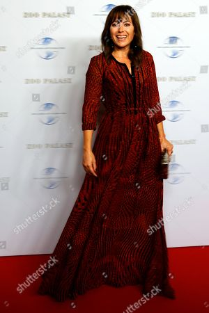 German actress Carolina Vera arrives on the red carpet of a gala on the occasion of the 100th birthday of German film producer Artur Brauner in Berlin, Germany, 08 September 2018. Artur 'Atze' Brauner celebrated his 100th birthday on 01 August 2018 in the company of his family. With the gala, the film world wants to celebrate the producer officially in the Zoo Palast cinema. Around 700 invited guests from all over Europe are expected, including many companions and prominent actors.
