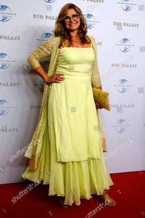 German TV celebrity Maren Gilzer arrives on the red carpet of a gala on the occasion of the 100th birthday of German film producer Artur Brauner in Berlin, Germany, 08 September 2018. Artur 'Atze' Brauner celebrated his 100th birthday on 01 August 2018 in the company of his family. With the gala, the film world wants to celebrate the producer officially in the Zoo Palast cinema. Around 700 invited guests from all over Europe are expected, including many companions and prominent actors.