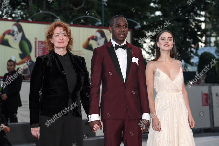 Jennifer Kent, Aisling Franciosi and Baykali Ganambarr