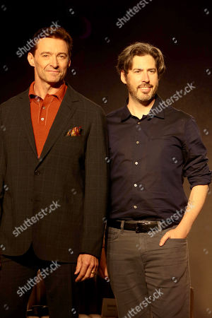 Hugh Jackman and Jason Reitman, Writer/Director/Producer, attend the 2018 Toronto International Film Festival press conference for Columbia Pictures' THE FRONT RUNNER at TIFF Bell Lightbox.