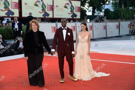 Jennifer Kent, Baykali Ganambarr and Aisling Franciosi