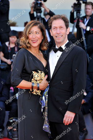 Lisa Benavides and Tim Blake Nelson