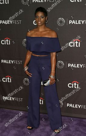 """Afton Williamson attends the PaleyFest Fall TV Previews of """"The Rookie"""" at The Paley Center for Media, in Beverly Hills, Calif"""