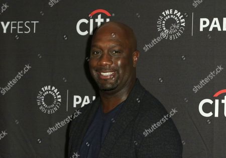 "Richard T. Jones attends the PaleyFest Fall TV Previews of ""The Rookie"" at The Paley Center for Media, in Beverly Hills, Calif"