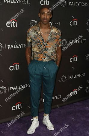 "Titus Makin Jr. attends the PaleyFest Fall TV Previews of ""The Rookie"" at The Paley Center for Media, in Beverly Hills, Calif"