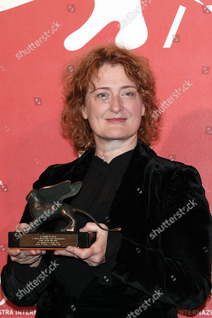 Jennifer Kent poses with the Special Jury Prize for 'The Nightingale'
