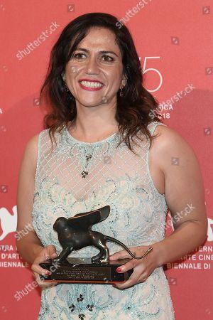 Editorial image of Award Ceremony, Press Room, 75th Venice International Film Festival, Italy - 08 Sep 2018