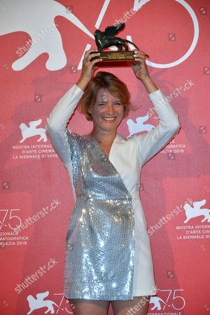Editorial photo of Award Ceremony, Press Room, 75th Venice International Film Festival, Italy - 08 Sep 2018