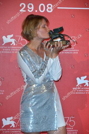 Stock Photo of Natalya Kudryashova - Orizzonti Award