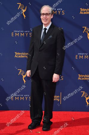 Jeff Beal arrives at night one of the Television Academy's 2018 Creative Arts Emmy Awards at the Microsoft Theater, in Los Angeles