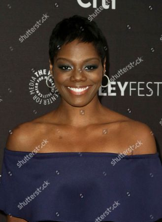 "Afton Williamson attends the PaleyFest Fall TV Previews of ""The Rookie"" at The Paley Center for Media, in Beverly Hills, Calif"