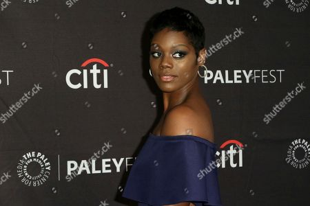 "Stock Photo of Afton Williamson attends the PaleyFest Fall TV Previews of ""The Rookie"" at The Paley Center for Media, in Beverly Hills, Calif"