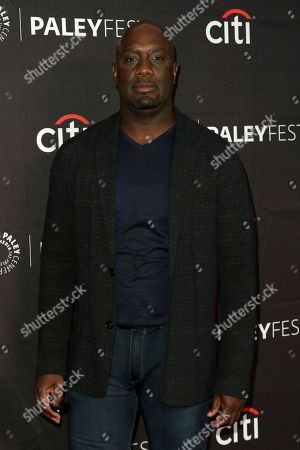 """Richard T. Jones attends the PaleyFest Fall TV Previews of """"The Rookie"""" at The Paley Center for Media, in Beverly Hills, Calif"""