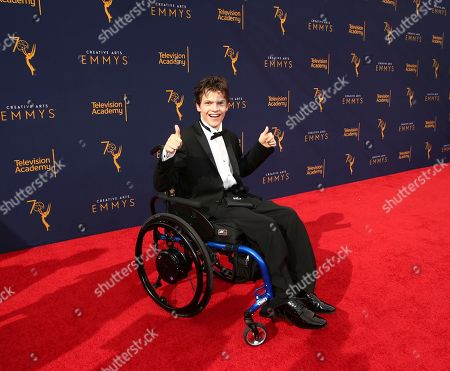 Editorial image of Television Academy's 2018 Creative Arts Emmy Awards - Red Carpet - Night One, Los Angeles, USA - 08 Sep 2018