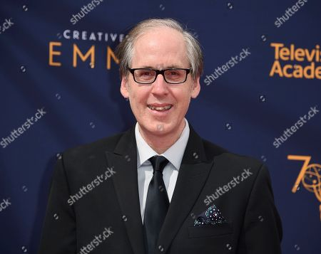Jeff Beal arrives at night one of the Creative Arts Emmy Awards at The Microsoft Theater, in Los Angeles