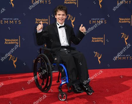 Editorial picture of 2018 Creative Arts Emmy Awards - Arrivals - Night One, Los Angeles, USA - 08 Sep 2018