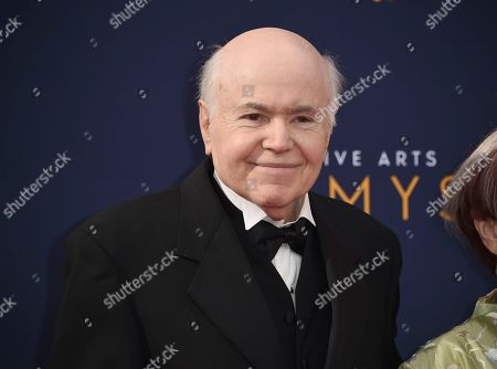 Walter Koenig arrives at night one of the Creative Arts Emmy Awards at The Microsoft Theater, in Los Angeles