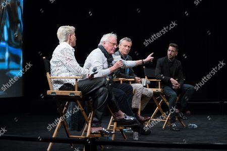 Emma Thompson, Richard Eyre, Duncan Kenworthy and Charles Thorp