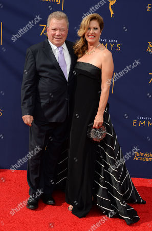William Shatner and wife Elizabeth Shatner