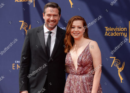 Alexis Denisof and wife Alyson Hannigan