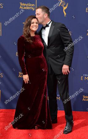 Tiffani Thiessen and husband Brady Smith