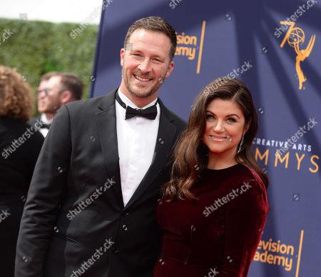 Brady Smith and wife Tiffani Thiessen