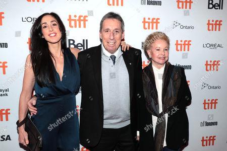 Catherine Reitman, Ivan Reitman and Genevieve Robert
