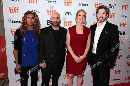 Brenda Gilbert, Aaron L. Gilbert, Producer, Helen Estabrook, Producer, and Jason Reitman, Writer/Director/Producer