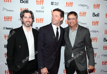 Jason Reitman, Writer/Director/Producer, Hugh Jackman and Tom Rothman, Chairman of Sony Pictures Entertainment?s Motion Picture Group