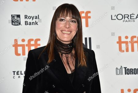 "Rebecca Root attends the premiere for ""The Sisters Brothers"" on day 3 of the Toronto International Film Festival at the Princess of Wales Theatre, in Toronto"