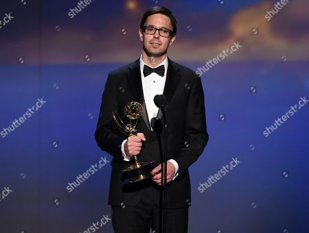 Justin Martin during night one of the Television Academy's 2018 Creative Arts Emmy Awards at the Microsoft Theater, in Los Angeles