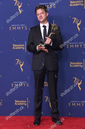 Editorial picture of 2018 Creative Arts Emmy Awards - Press Room - Night One, Los Angeles, USA - 08 Sep 2018