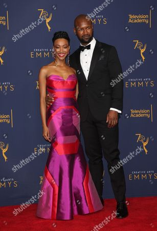 Sonequa Martin-Green and Kenric Green