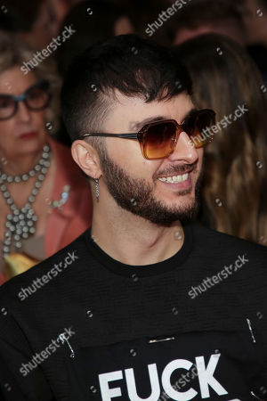 Brad Walsh attends the Christian Siriano Runway Show held at Gotham Hall during New York Fashion Week, in New York