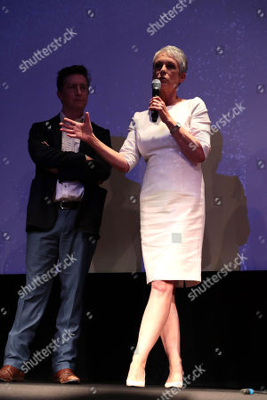 David Gordon Green, Writer/Director/Executive Producer, Jamie Lee Curtis, Executive Producer