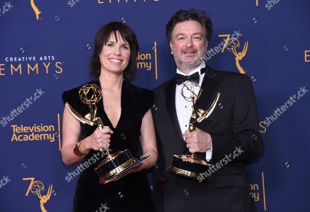 Editorial photo of 2018 Creative Arts Emmy Awards - Press Room - Night One, Los Angeles, USA - 08 Sep 2018