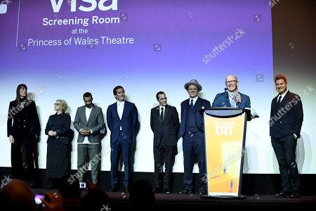 Rebecca Root, Carol Kane, Riz Ahmed, Jake Gyllenhaal, Joaquin Phoenix, John C Reilly, Jacques Audiard, Writer/Director, Thomas Bidegain, Writer,