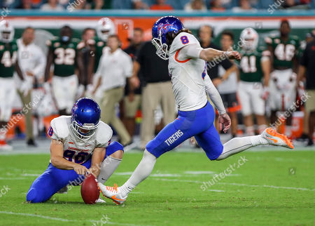 Editorial photo of NCAA Football Savannah State vs Miami, Miami Gardens, USA - 08 Sep 2018