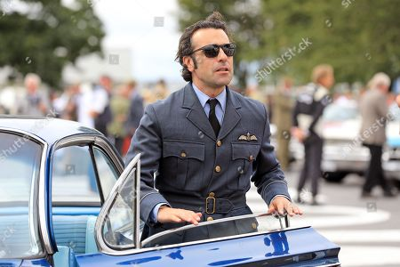 Dario Franchitti pictured at The Goodwood Revival, Sussex
