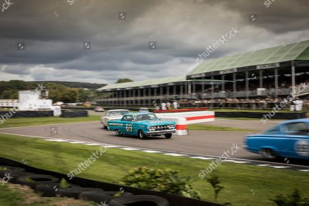 Gordon Shedden driving in St Mary's Part 1
