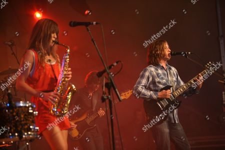 The Zutons - Abi Harding and Dave McCabe