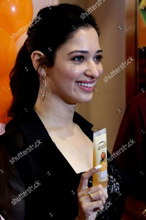 Editorial picture of Indian Bollywood actress Tamannaah Bhatia in Bangalore., India - 09 Sep 2018