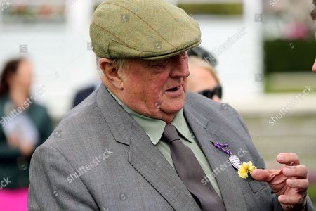 Trainer Mick Easterby who won The Eventmasters.co.uk Apprentice Handicap Stakes over 7f (£17,000) with LADIES FIRST  during the Newby and the Press Family Raceday at York Racecourse, York. Picture by Mick Atkins