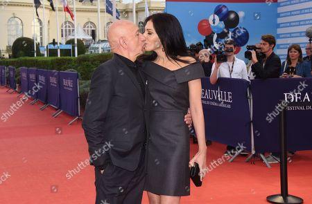 Sir Ben Kingsley and wife Daniela Lavender