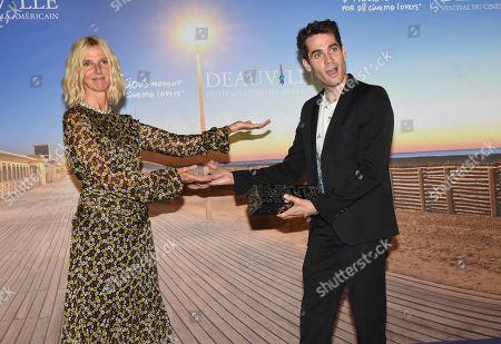 Grand Prize winner of the 44th Deauville American Film Festival, Sandrine Kiberlain and Jim Cummings