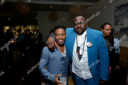 Stock Picture of Jon Michael Hill, Brian Tyree Henry